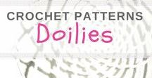 Crochet doilies & dream catchers / Here you can find doilies which - for example - can be used to make dream catchers. wilmade.com