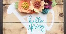 Spring Song / Community board for spring inspirations, DIY projects and decorations. If you would like get invitation send me a mesage :) Tablica do przypinania wiosennych inspiracji, projektów DIY i dekoracji. Jeśli chcesz dołączyć do twórców tej tablicy, napisz do mnie :)