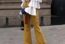 trendfarbe gelb. / Gelb ist DIE Trendfarbe. Hier findet ihr alle Kleidungsstücke, Inspirationen, Stylingideen und Outfits mit gelben Farbakzenten!