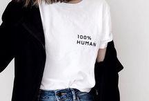 printshirts. / Modetrend: Printshirt. Die schönsten T-Shirts und Oberteile mit lässigen, coolen und witzigen Prints. Stylingideen, Outfitinspirationen und mehr!