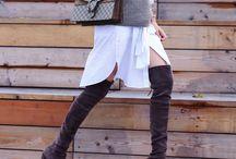 overknees. / Overknees sind sowas von sexy! Hier findet ihr Outfits mit Overknees Stiefeln und eine Menge Inspiration!
