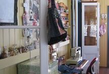 Sewing Rooms / Various Sewing Room Idea's, including mine