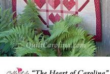 """Quilt! Carolina Patterns / Quilt! Carolina 2017 theme is """"Carolina Treasures""""!  Check out our online store 356quiltshop.com to purchase new 2017 pattern book. Patterns from prior years also available. Call (336)631-5356 for more info."""