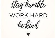 Words of Wisdom / Inspiring quotes for the young working woman