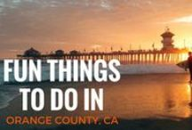 Things To Do in OC / There's nowhere else in the world quite like Orange County, CA, from the beach to the desert and everything in between you can really do anything here. Check out what our weekends are made of.