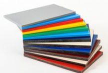 Kunststof platen / Verschillende soorten kunststof platen