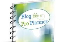 Blog Planners / Every online business owner utilizes a planner of one type or another. Professional bloggers need a comprehensive blog planner to effectively map out and plan their business objectives, tasks, and goals. Blog Like a Pro Planner is an all inclusive extensive blogging & business planner that is customizable to your personal business needs. BLAP is created and published by Como Blog. http://comoblog.com/store