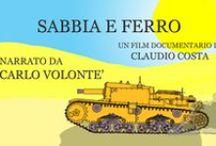 Sabbia e ferro - Carlo Volontè e la Divisione Ariete / http://www.roninfilmproduction.com/1/sabbia_e_ferro_6792583.html