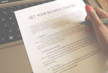 Business Printables & Forms / All of the business printables and forms you need to plan, organize, and grow your business. Find even more resources for the online business owner at http://comoblog.com