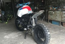 """R1100GS scrambler """"Panzer!"""" by MFP  (Motorbike For Passion) / R1100GS scrambler Fase 1 by MFP e Fase 2 by Fabio"""