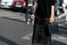 All Black / All Black Outfit Inspiration