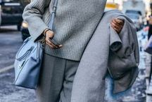 ALL GREY / All Grey Outfit Inspiration