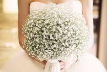 wedding flower / 装花、ブーケ、ブートニア
