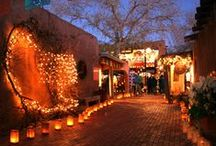 Holidays in Albuquerque / Celebrate the holidays in Old Town Albuquerque and the Rio Grande Inn.