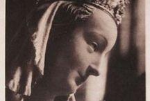 vintage Catholic statues