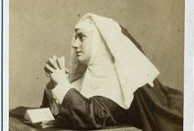 Catholic photography, a point of view in black and white / vintage photography of Catholic life and prayer
