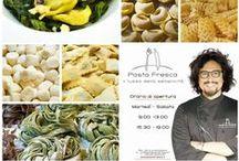 Pasta Fresca - il lusso della semplicità / Pasta Fresca - Il lusso della semplicità è il laboratorio artigianale di pasta fresca di chef Alessandro Borghese. Via Washington 82, Milano Tel 02-4233127 www.lamiapastafresca.it