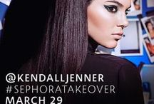 Kendall Jenner with Sephora