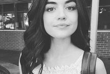 Lycy Hale / Lucy Hale Seriously, don't take everything so seriously. ☕️
