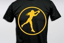 Playmaker Icon Collection / The Playmaker Icon Collection inspired by Troy Polamalu from Brand Legendary includes Performance Dri-Fit Men's and Women's T-Shirts, Full Zip Fleece Hoodies, Performance Lightweight Jackets, Classic Game Day Playmaker Icon T-shirts, Playmaker Icon embroidered Beanies and Troy Polamalu's favorite items, the Playmaker Icon Solo Waffle Thermal Long Sleeve shirts.  The Playmaker Icon, Troy Polamalu, inspires all to #BeLegendary in everything you do.  / by Brand Legendary