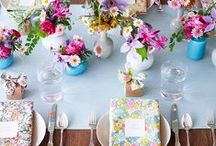 Events/Display / everything from table settings down to specific party decor / by Karissa Hall