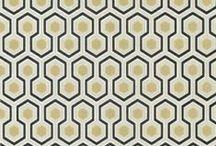 Printed fabric / pillows, wallpaper, rugs . . .