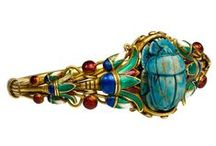 Egyptian Revival collection / Egyptian Revival | Fine & Costume Vintage Jewelry