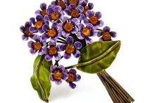 Flower Garden Collection / Vintage Floral Brooches | Flowers, Bouquets, Baskets | Costume Jewelry