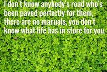 """Great Quotes / Great quotes about life on """"The Road"""" of having a child who has 'designer genes."""""""