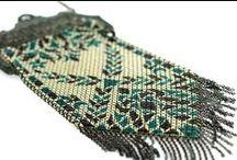 Vintage Handbag Collection / Vintage Handbags & Purses: Mesh, Beaded, Tapestry, Plastic...