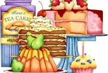 Baking / Baking Clip Art and Photos,  Bread, Cakes, Cookies, Pies  / by Pam Harbuck