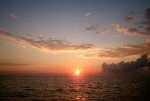 the sky and sea / my blog → 漁師【光栄丸】とハンドメイド♪:http://fujjin22.soreccha.jp/の中でUPされている空と海を集めました