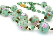 Beaded Beauties / Vintage Glass and Early Plastic Beads