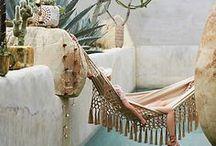 INTERIOR x Ibiza Style Living Room / Ibiza Style - Turquoise