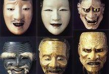 Masks / Theatre Masks: design references