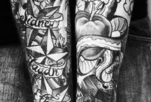 Tattoo Inspiration / Here you can find my tattoo inspiration. // Hier findest du meine Tattoo-Inspirationen.