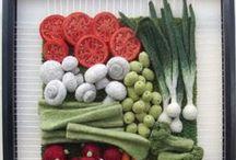 Fabric Vegtables