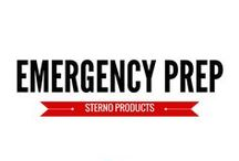 Emergency Prep / Whether hurricane, tornado, flood, snow, or otherwise, Sterno is here to help you plan carefully for emergencies.