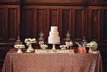 | Weddings | Sweet Tables / Inspiration for an inviting Sweet/Dessert Table at your Wedding