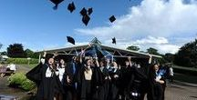 Graduation / Our favourite day of celebration, achievement, fond farewells and epic selfies.