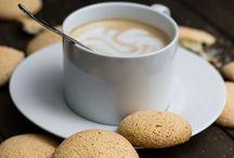 Tea, chocolate and coffee time