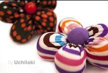 By Uchiloki / Hecho por Uchiloki reciclando materiales Handmade recycling materials