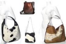 Designer Cowhide Handbags / A lovely range of handbags, totes, hobo bags and a cute ipad case all using hair-on cowhide feature panels. Excellent quality leather bags for the stylish modern woman. Stocked by Gorgeous Creatures. www.gorgeouscreatures.co.nz