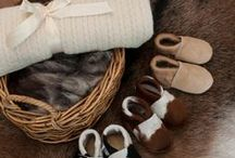 For Baby - booties, blankets and sheepskins / Gorgeous Creatures stocks a small but perfectly formed selection of calfskin and lambskin baby booties, possum merino wool baby blanket and sheepskin rugs for babies bedroom.