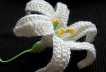 Flores Crochet/ flowers / Free patterns, patrones gratis