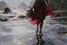 """Art speaks to the soul / """"I used to Dream of painting and now I paint my Dreams"""" / by tink bell"""