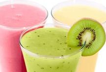 Let's drink!  / Recipe of smoothie, tea, juice that are healthy for your body. Detox, Cleanse, fat-burning, boosting
