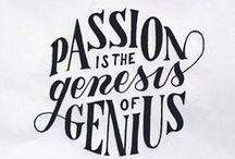 Inspiration / Dose of inspiration