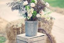 | Weddings | Rustic Garden / Inspiration for a natural, rustic themed Wedding.