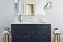 Bespoke Bathroom Vanity Cabinets / We make fitted and freestanding wooden bathroom furniture, from oak cabinets to furniture with designer painted finishes to suit your tastes and needs, remember your options are endless so we've got your bathroom covered